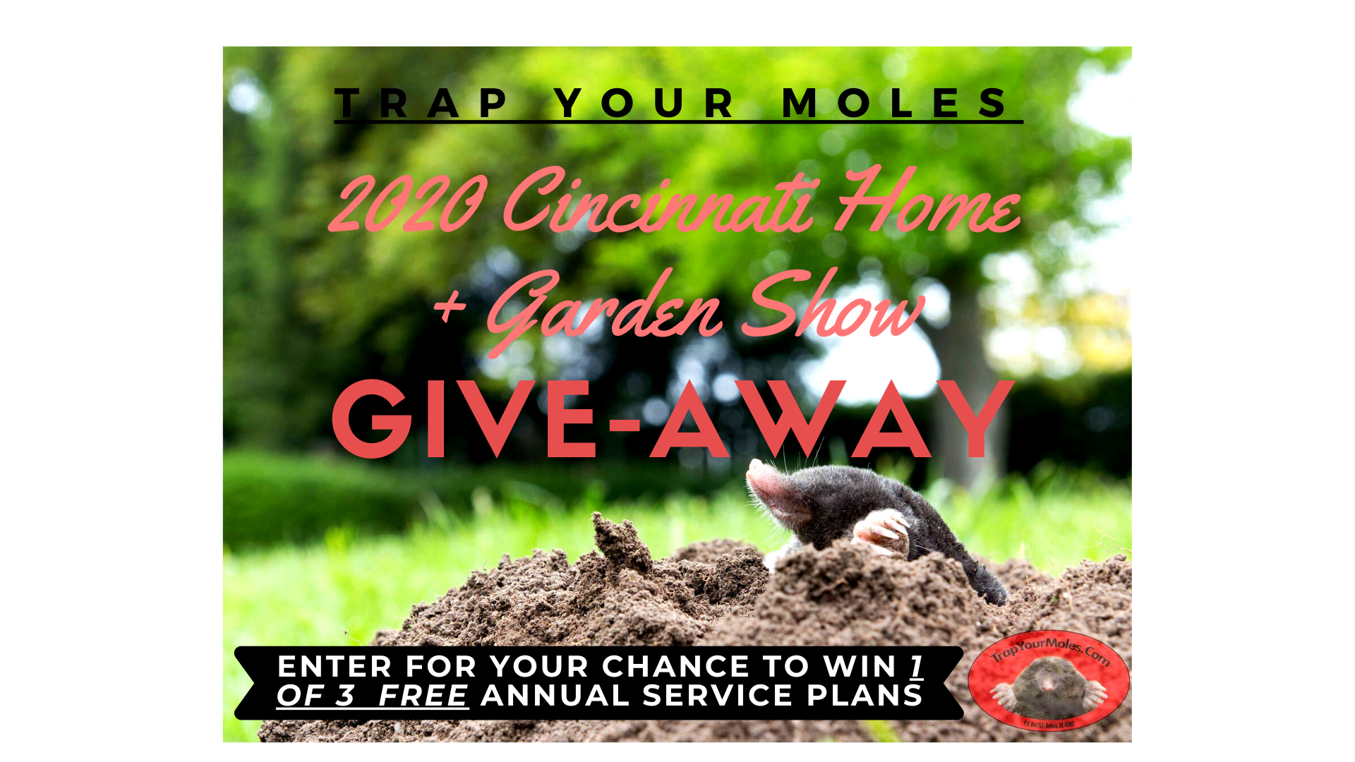Home and Garden Show Event Graphic